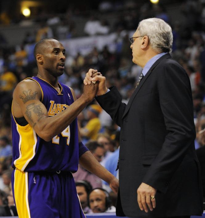 Kobe Bryant, Phil Jackson